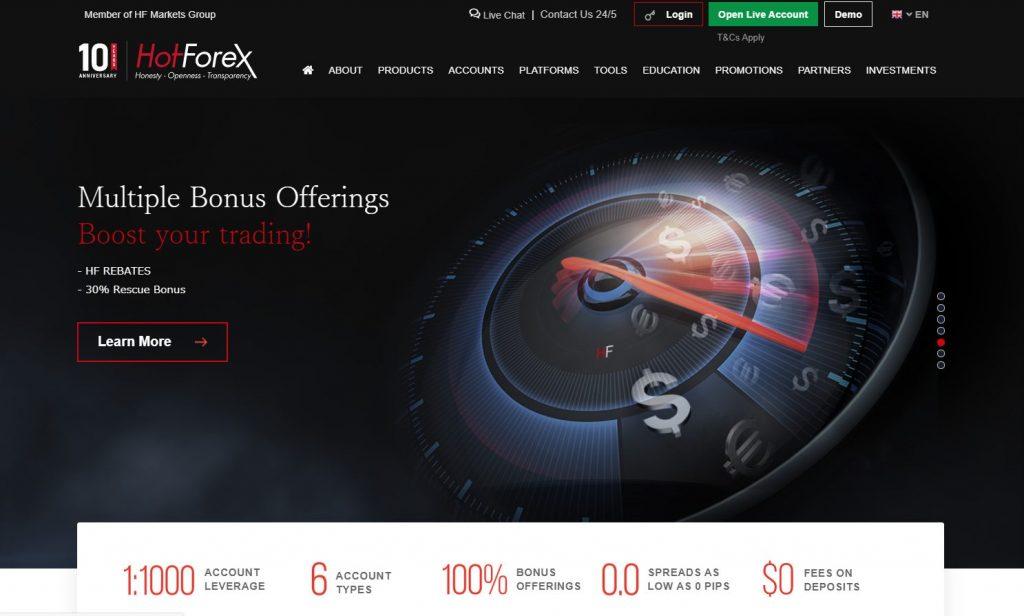 The Best Broker for Beginners 2nd : HotForex