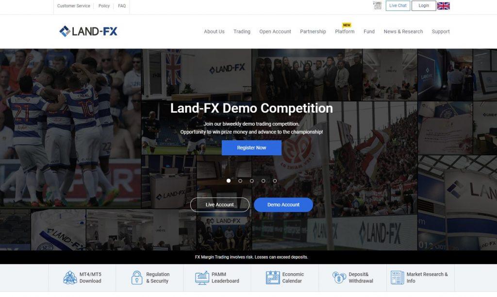 The Best Broker for Beginners 4th : LAND-FX