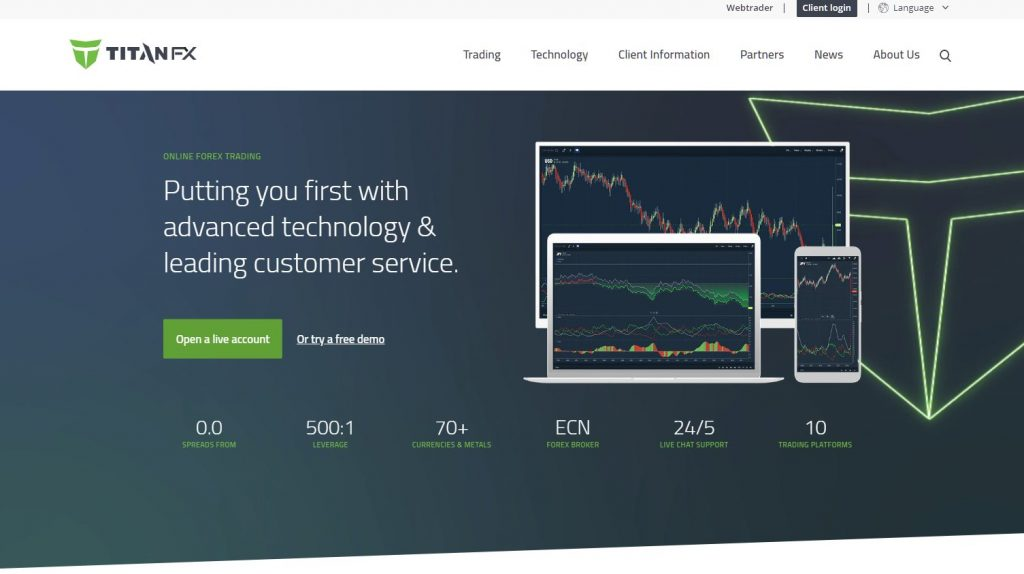 The Best Broker for Beginners 5th : TitanFX