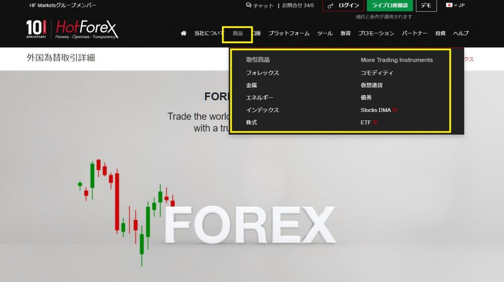 HotForex取引時間の調べ方