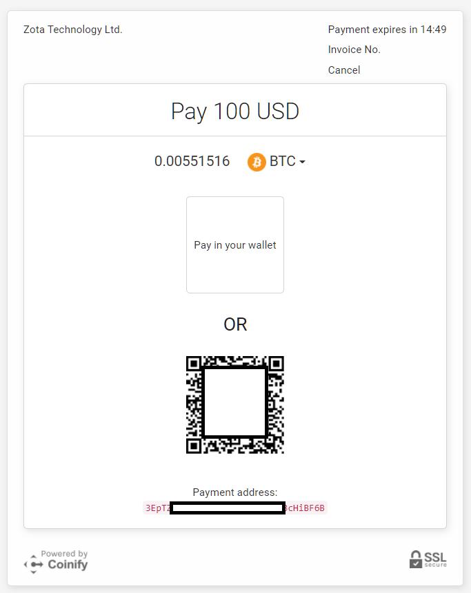 iFOREXビットコイン(bitcoin)入金、送金先アドレスの確認と送金