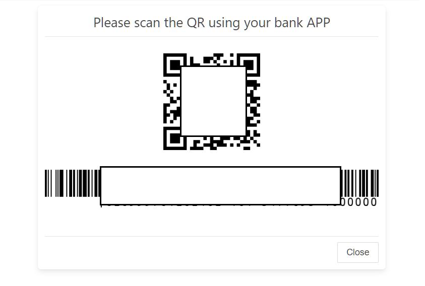 scan qr code for deposit xm