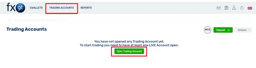 fbs demo account, open trading accounts