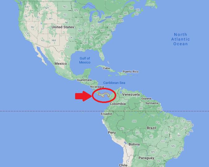 パナマの場所