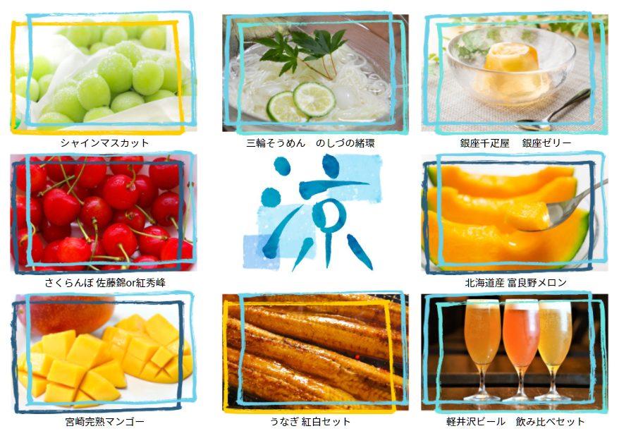 MYFX Markets お中元キャンペーンの商品